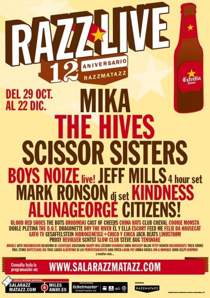 Razzmatazz Live 2012