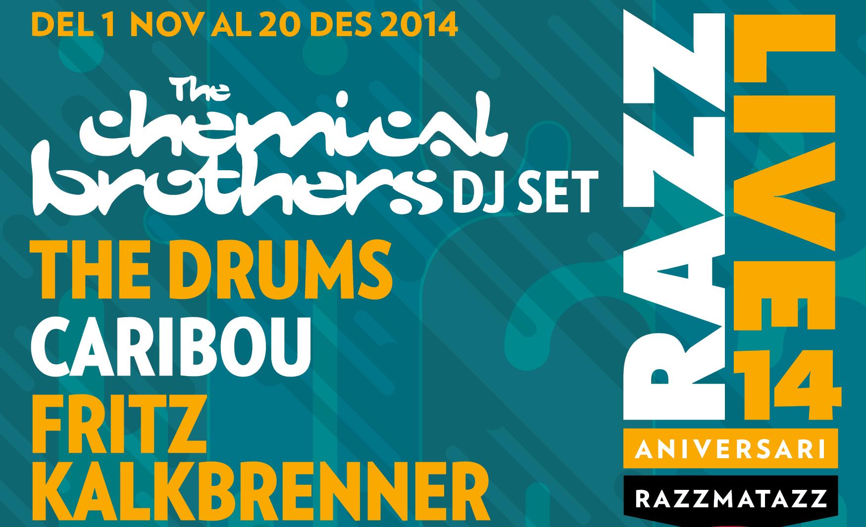 Razzmatazz Live 14 Aniversario By Amable