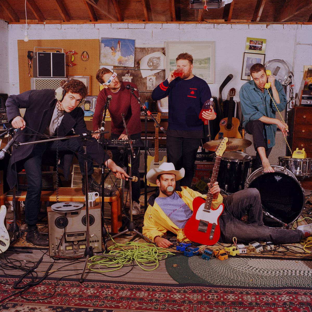 """GROUNDERS """"Coffe & Jam""""  ALBUM MARZO 2018"""