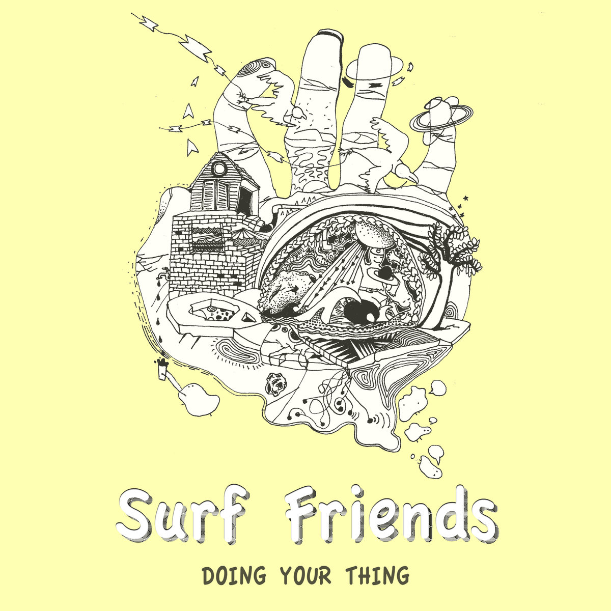"SURF FRIENDS ""Doing Your Thing"" Best Album Septiembre 2019"