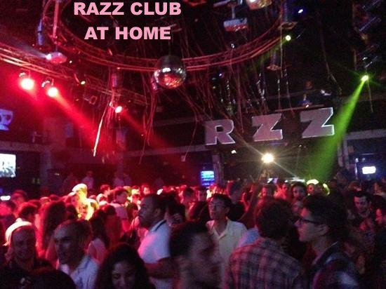 RAZZ CLUB AT HOME